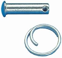 RVS borgpennen    lengte 20mm   Ø 6mm